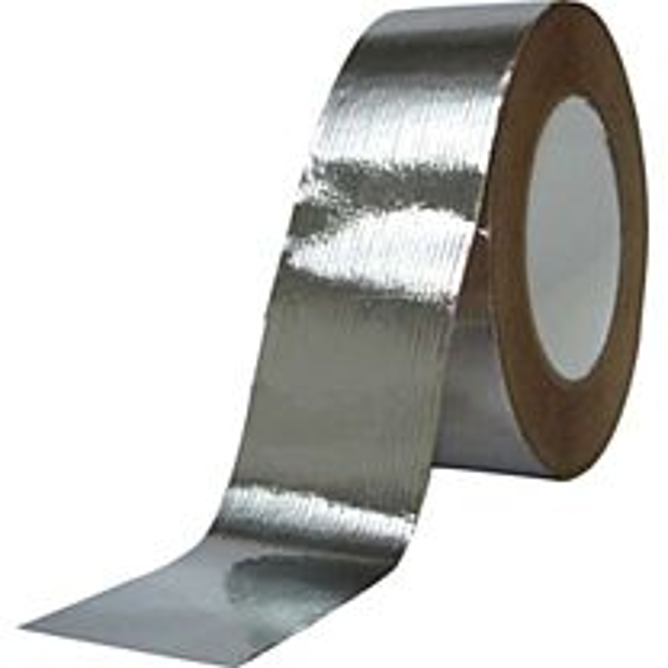 Aluminiumtape 50 mm x 25 mtr